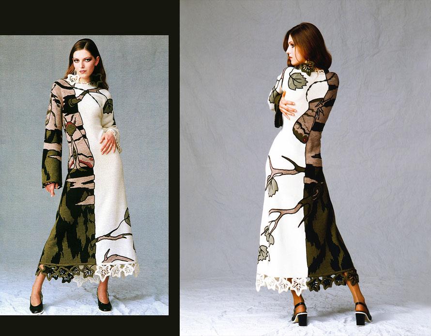 Alexander Seraphim's knitwear, 'Mimicry #11', 1996