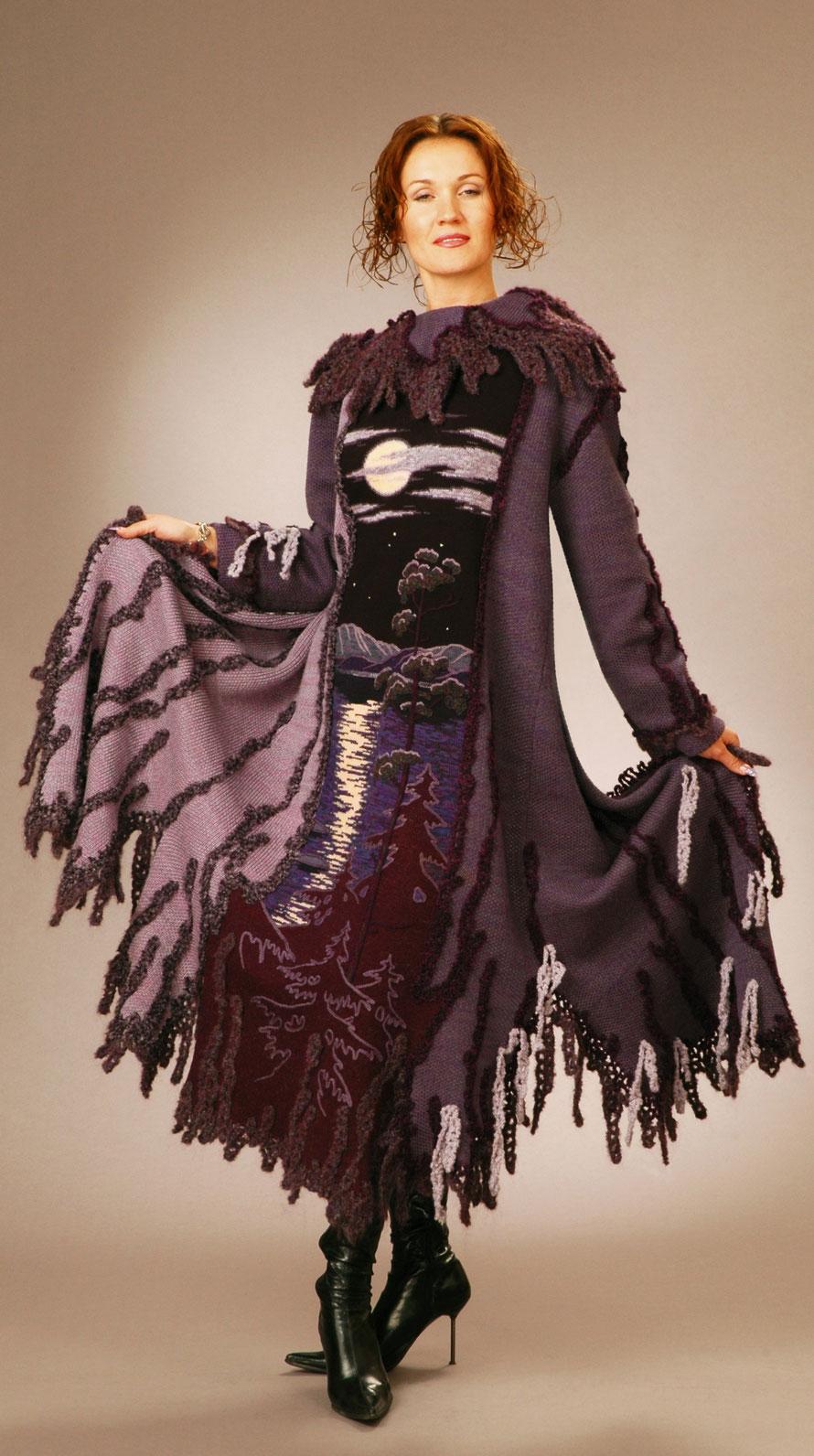 "Alexander Seraphim's knits, ""Hoary Urals"", 2007"