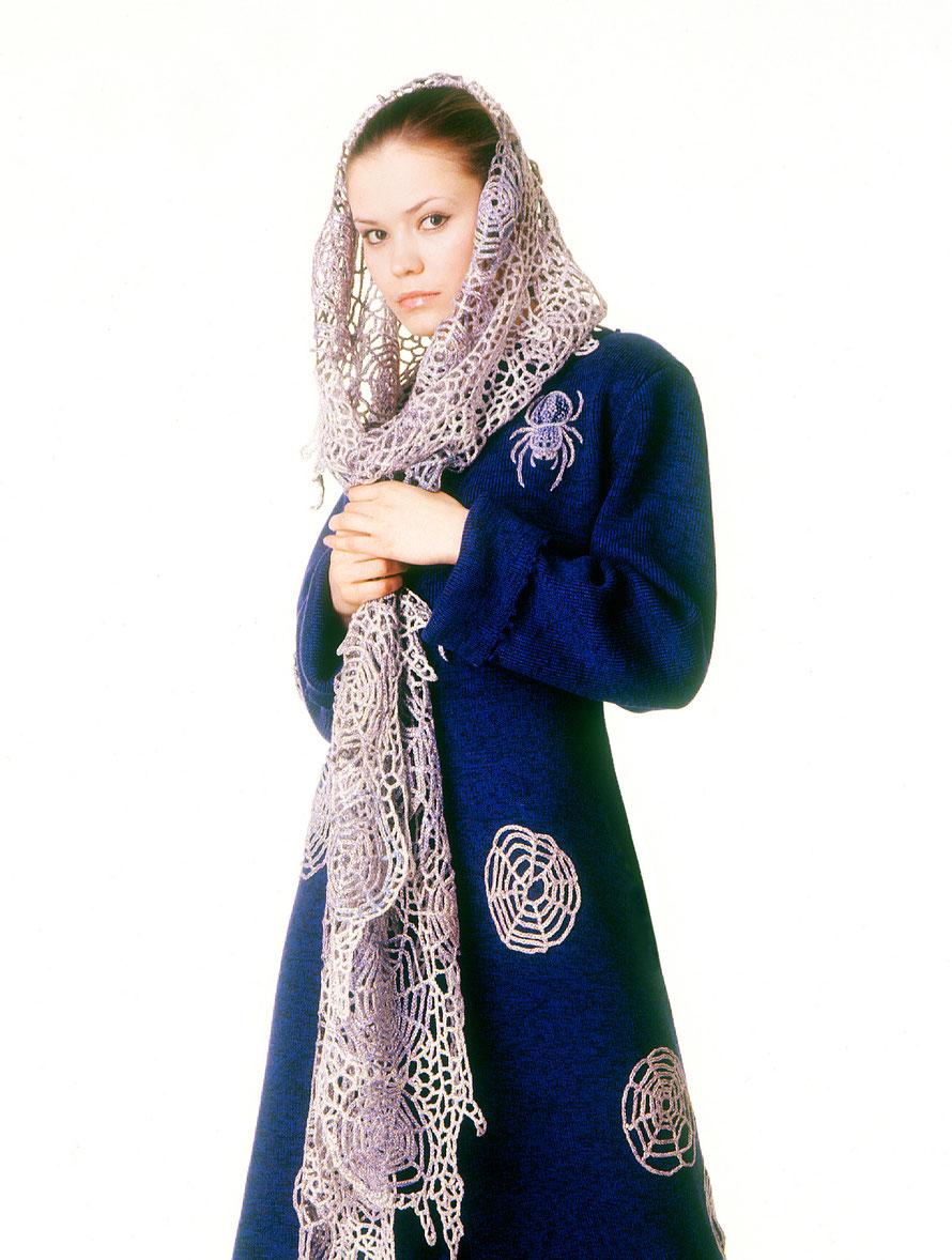 """Alexander Seraphim's knitwear, """"Spidey #2"""", 2006"""