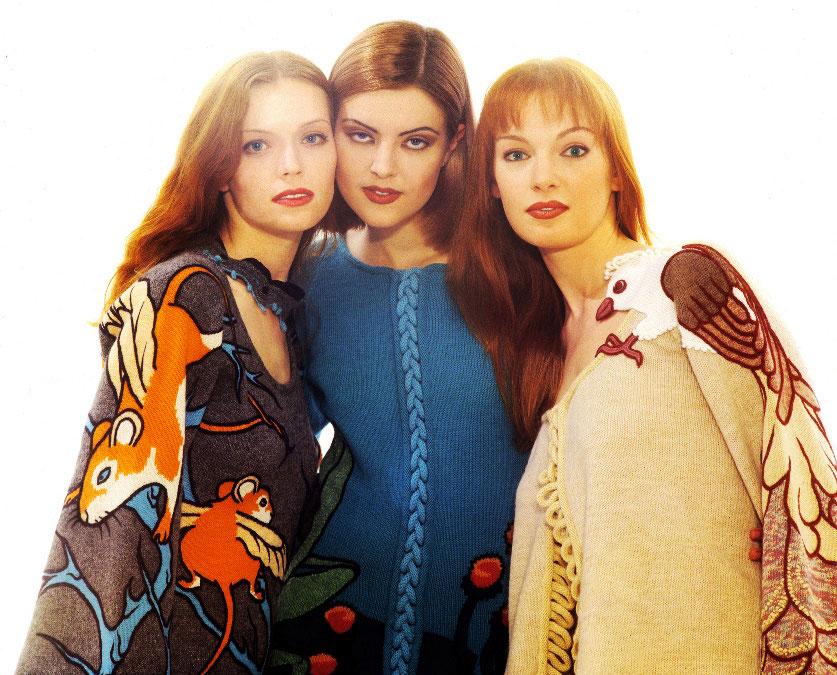 "Alexander Seraphim's knitwear, ""Mimicry #11"", 1996"