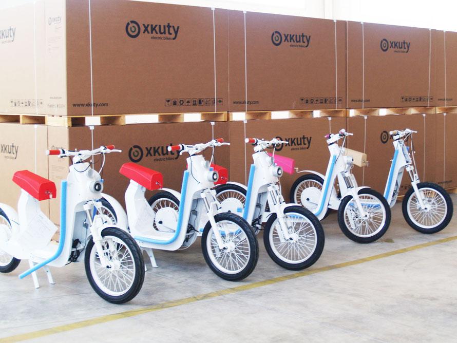 factoría de motos eléctricas xkuty