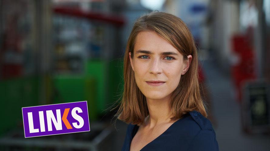 Anna Svec arbeitet als Rechtsberaterin in der Bundeshauptstadt  und möchte Wien verändern. (c) LINKS