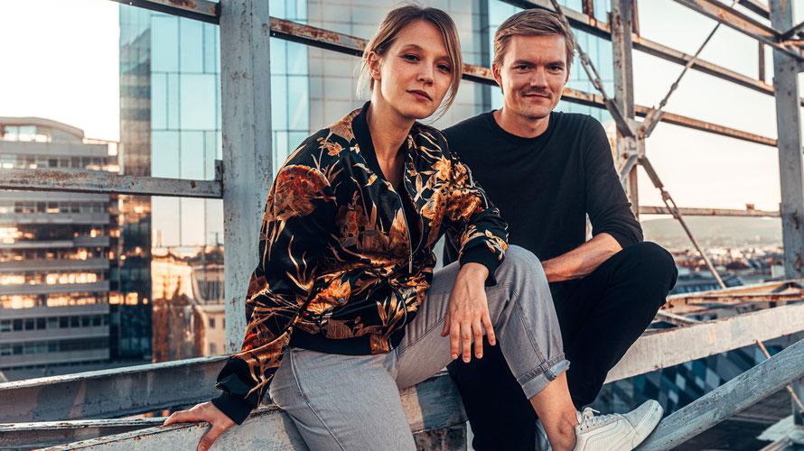 Verena Doublier und Sebastian Radon besingen ihre Liebe zu Wien und anderen Großstädten im neuen Album. (c) Konstantin Reyer