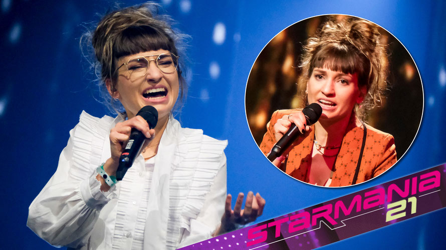 Anna Buchegger sang sich ins Finale der Castingshow Starmania21. (c) ORF / Hans Leitner