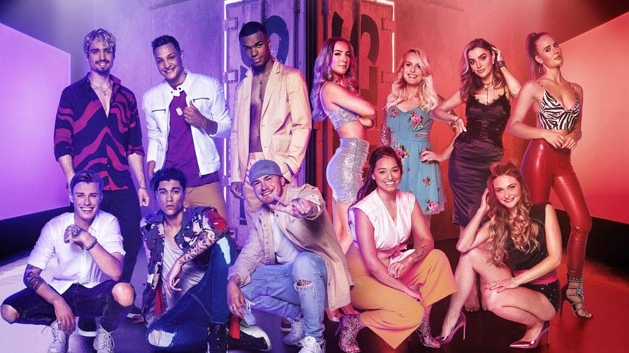 Das sind die zwölf FinalistInnen der neuen Music-Reality-Show. (c) RTLZWEI, Magdalena Possert