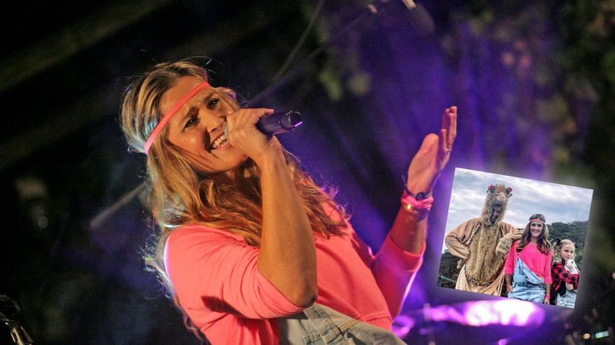 Auf der Piste war Lizz Görgl ein Star, nun versucht sie es auch mit ihrer Musik auf der Bühne. (c) miggl.at / Lizz Görgl