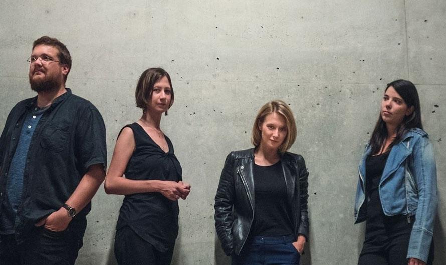 Die Prater WG im Detail: Florian Kargl, Emily Smejkal, Verena Doublier und Raphaela Fries. (c) Alexander Lausch