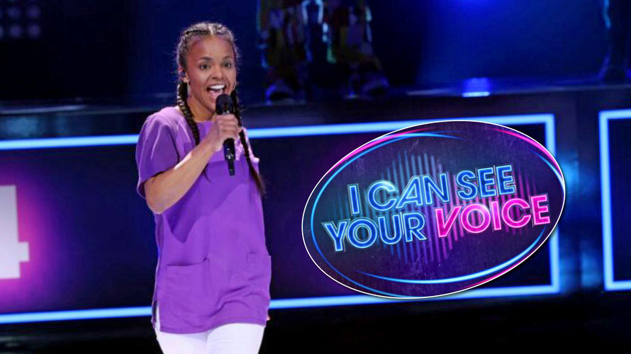 "Solanny Kiko punktete mit viel Pokerface bei der Musik-Comedyshow ""I Can See Your Voice"". (c) TVNOW / Frank W. Hempel"