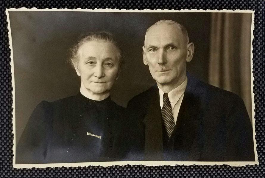 Großeltern Georg und Berta Raben geb. Determann