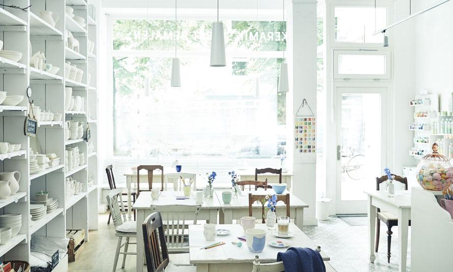 keramik einfach selbst bemalen keramik vom porzellanfr ulein. Black Bedroom Furniture Sets. Home Design Ideas