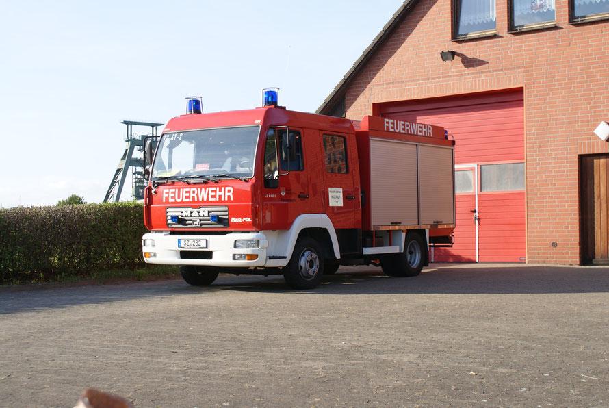 Feuerwehr Bleckenstedt TSF Bleckenstedt BLE Salzgitter Schacht Konrad Innenangriff Löschzug 2 II TSF-W TSFW aus Bleckenstedt Feurwehrauto Bleckenstedt N