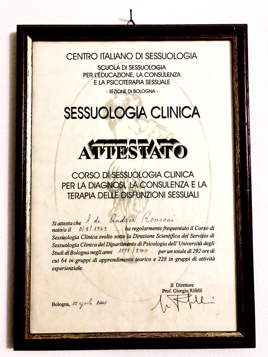 sessuologia clinica, diagnosi sessuale, consulenza sessuologica, terapia delle disfunzioni sessuali
