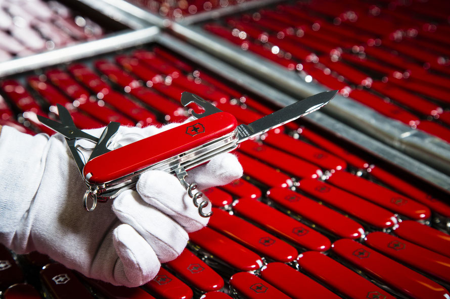 Victorinox is the world's only producer of Swiss Army Knives © Victorinox AG