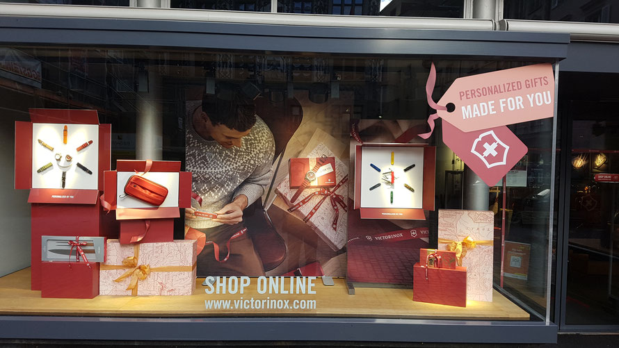 Victorinox AG Store-Schaufenster © Bellone Franchise Consulting GmbH