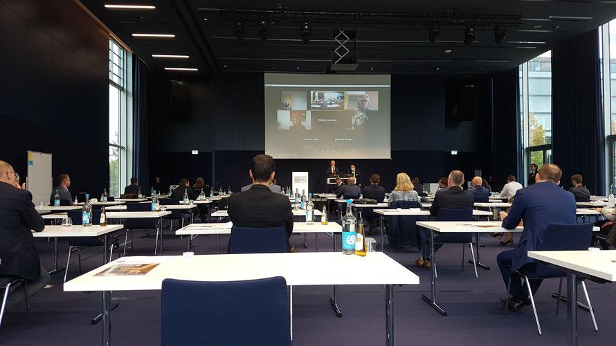 «Deutscher Unternehmer Benchmarkday» in Dreieich bei Frankfurt am Main. Foto von 2020 © Bellone Franchise Consulting GmbH