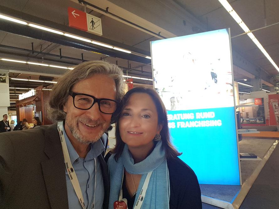 Prof. Veronika Bellone & Thomas Matla, FEX18 © Bellone Franchise Consulting GmbH - Unser Gratisticket-Code lautet: BEL148