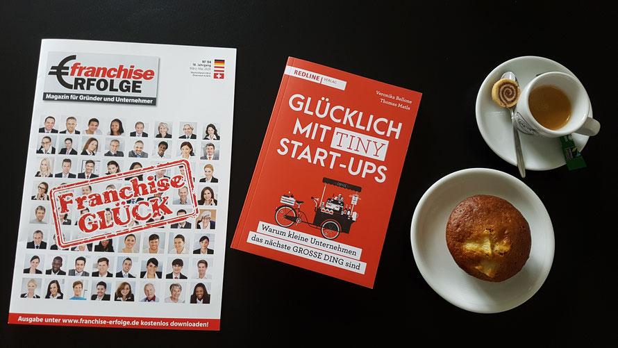 Glücklich mit Tiny Start-ups © Thomas Matla, Bellone Franchise Consulting GmbH, Zug, Schweiz