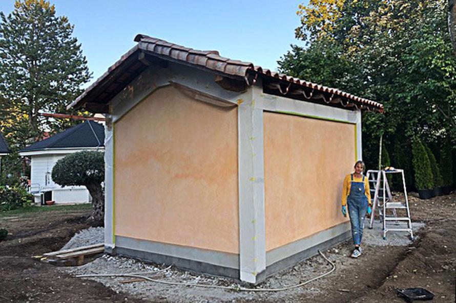 Kurs zur farblichen Fassadengestaltung