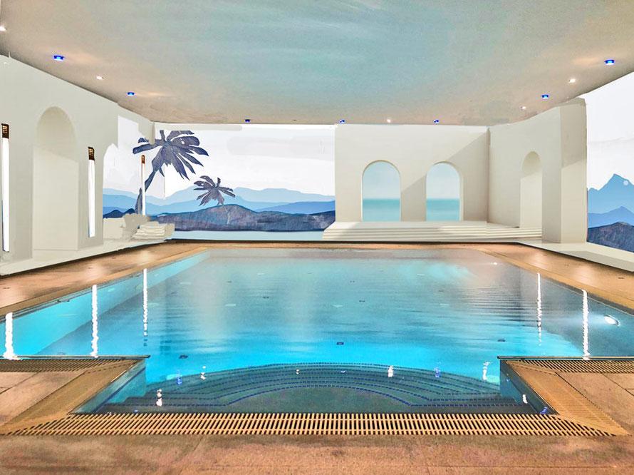 Schwimmbad bemalen lassen von Alina Cesár