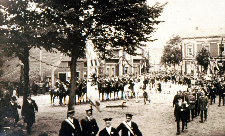 Aufmarsch Kriegerverein 1926
