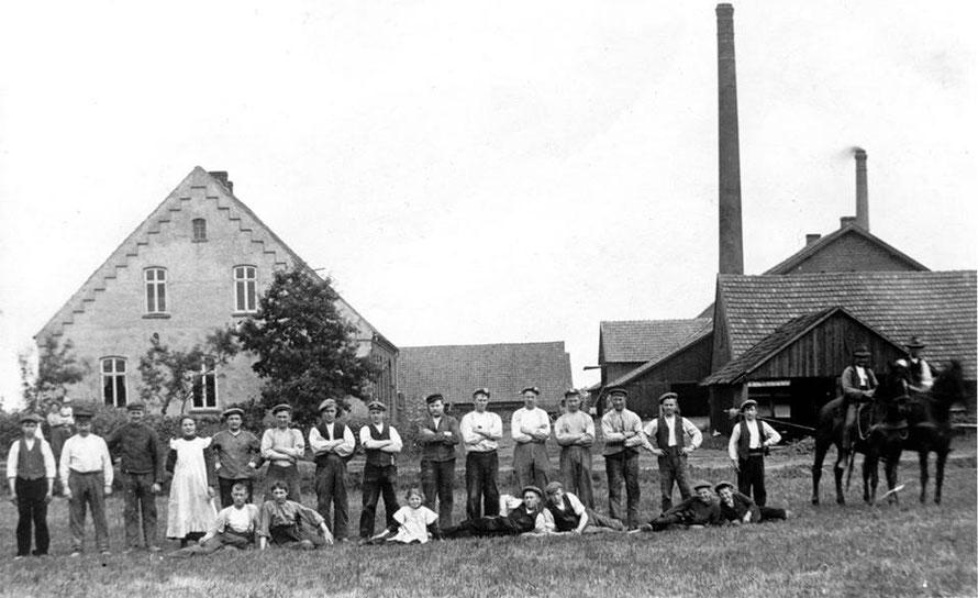 Foto 1912: Archiv Gemeinde Weyhe