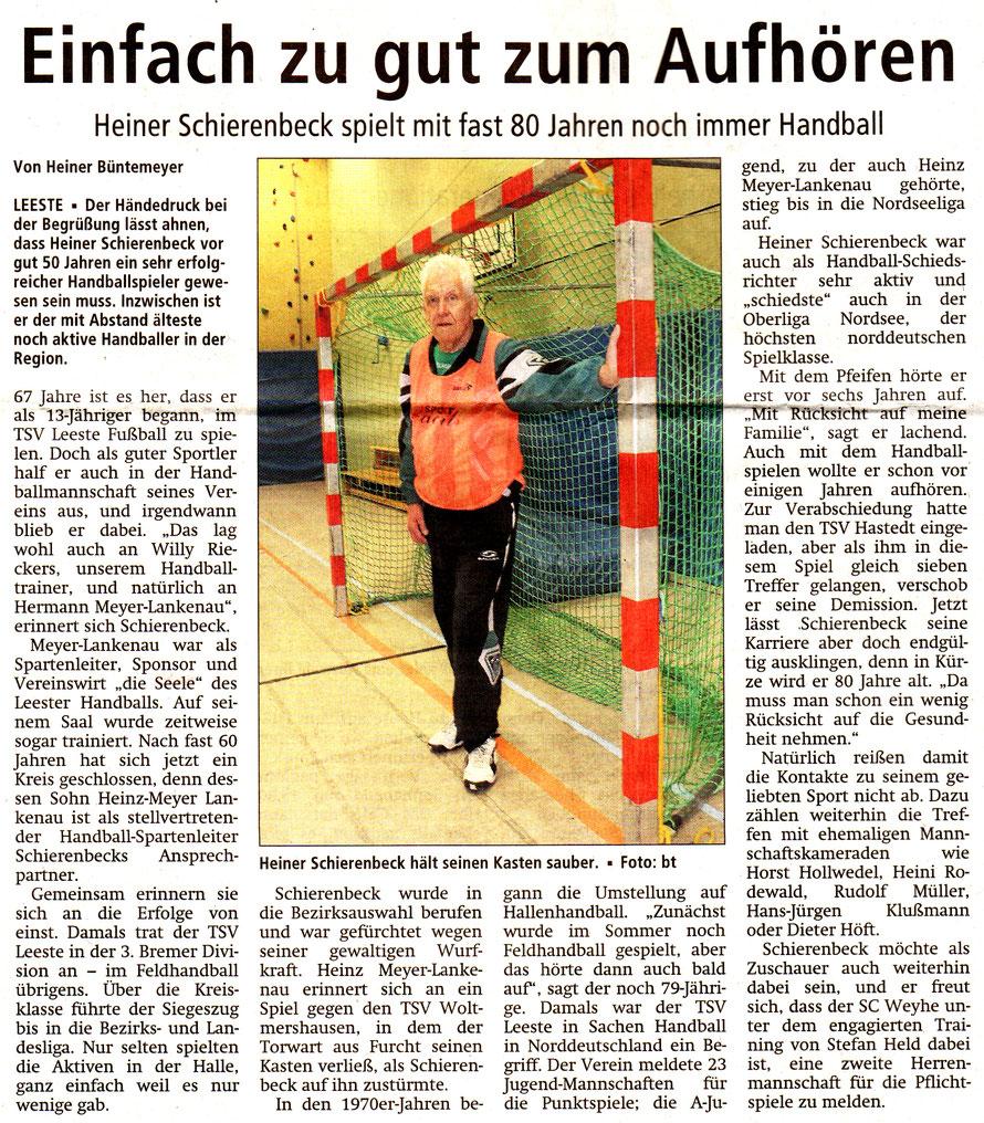 Kreiszeitung v. 25.2.2015