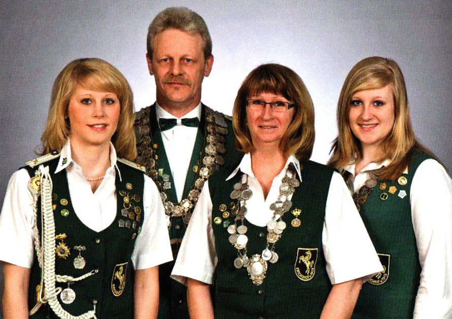 2010 Königsfamilie Nienstermann
