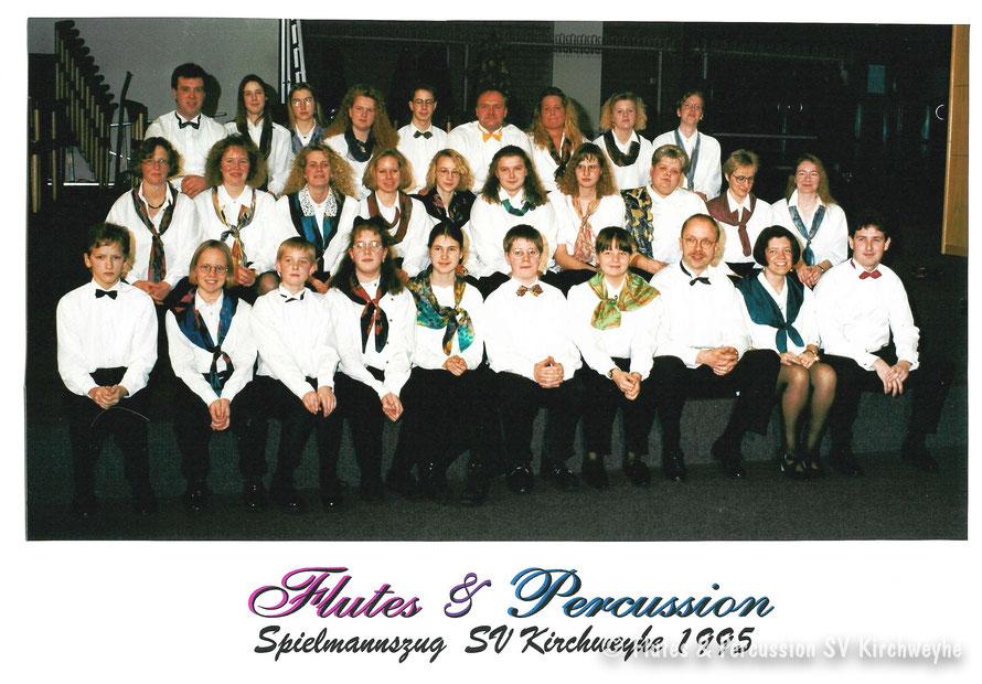 Erstes Gruppenfoto Flutes