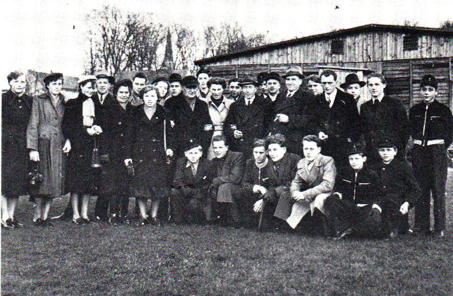 1. Herren und A-Jugend 1950 in Münster