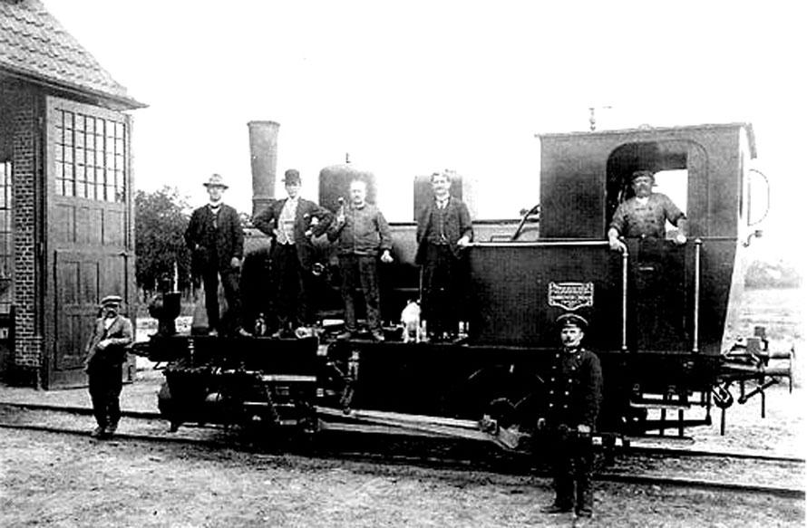 Rangierlok Baujahr 1911 / Foto/Repro: Wilfried Meyer