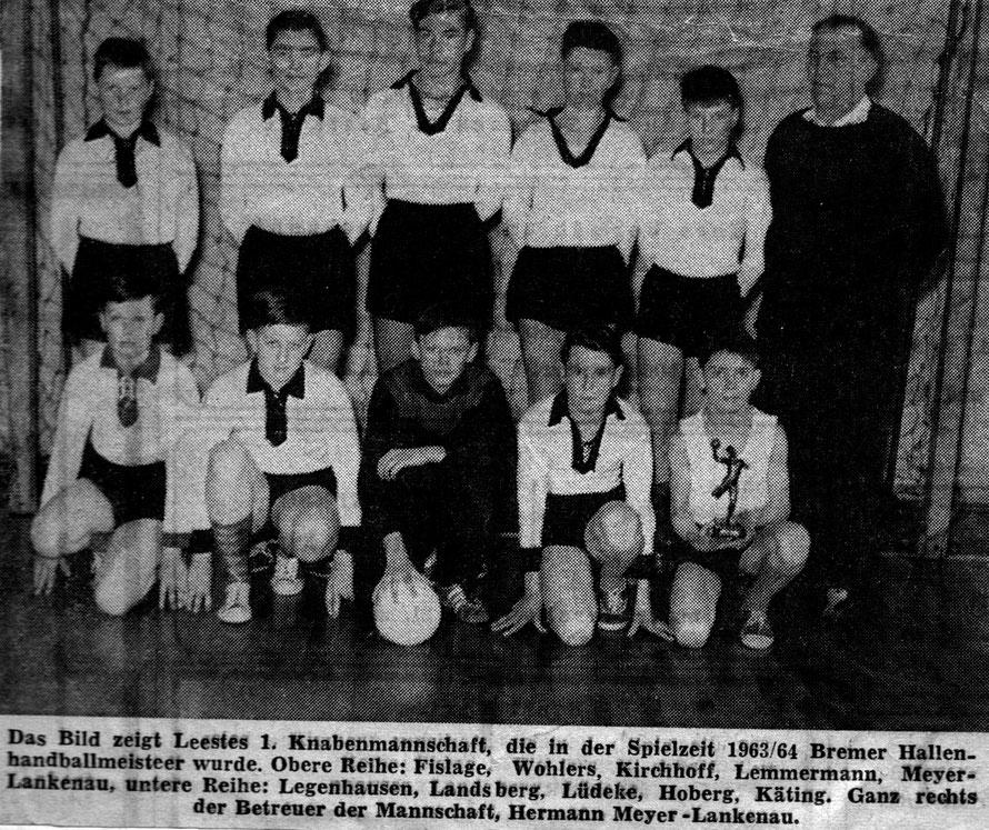 Kreiszeitung 1964