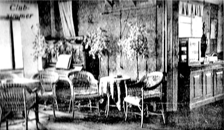 ca. 1925: Clubraum 4