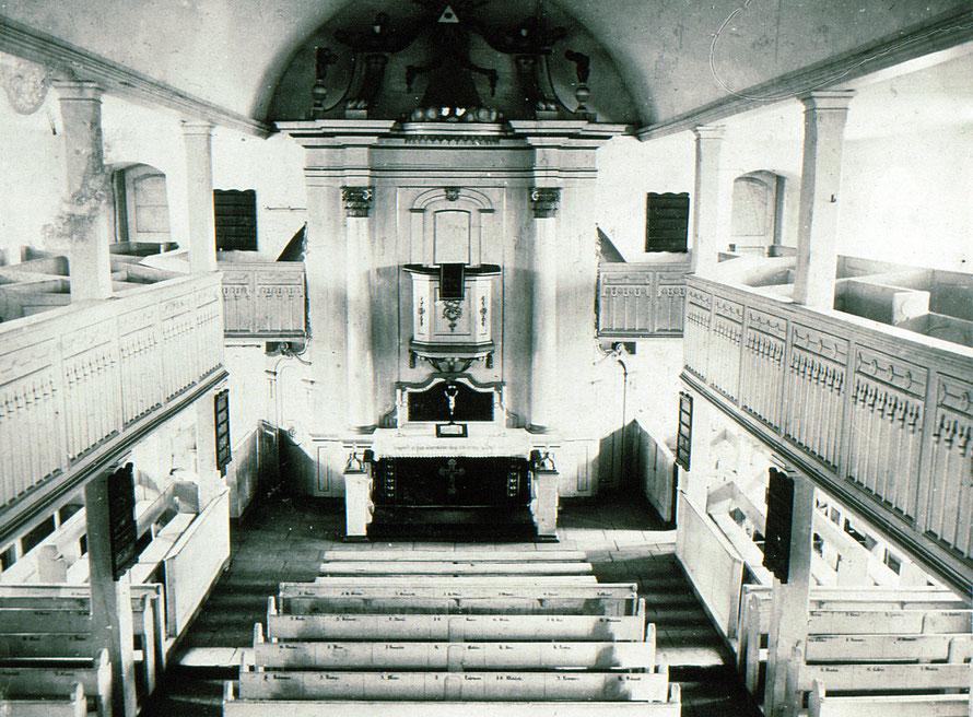 Leester Kirche um 1910