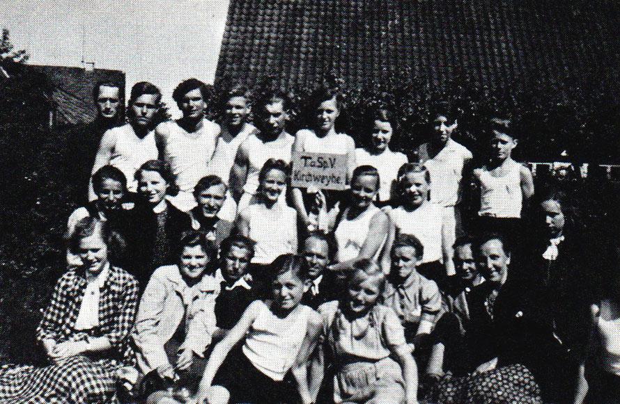 Sportfest 1950 in Riede