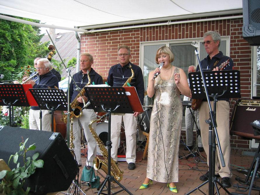 Swing Combo mit Sängerin