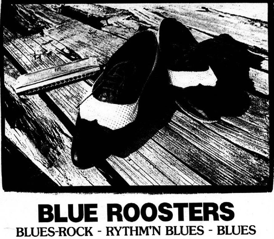 Plakat: Blue Roosters