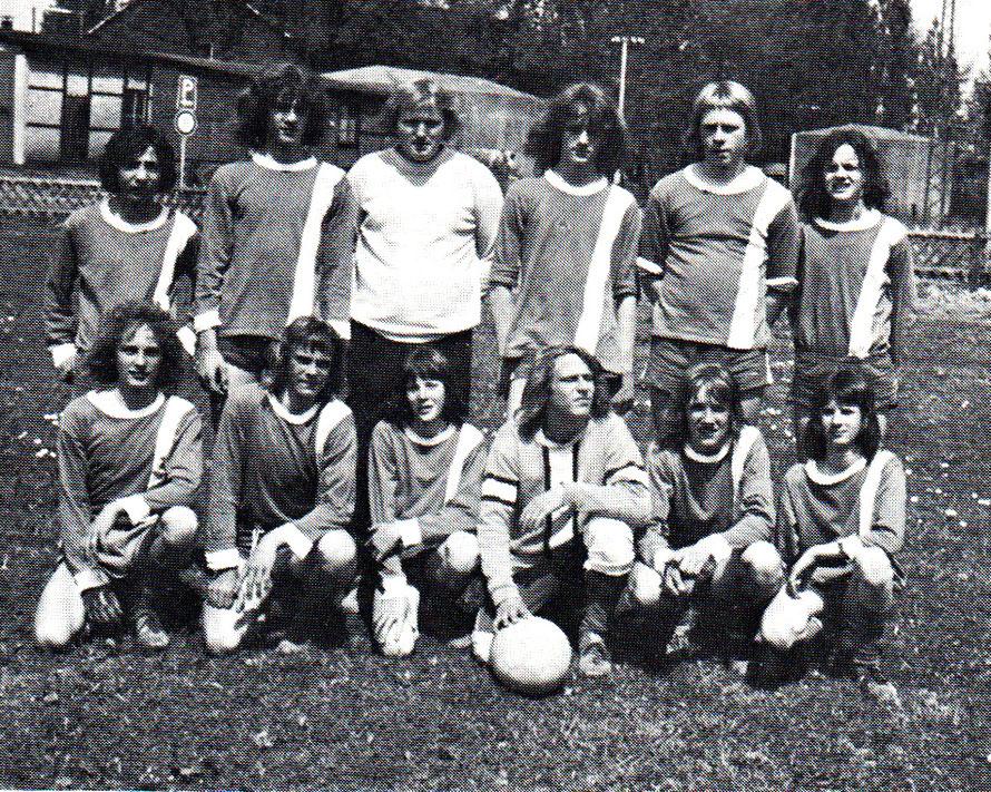 Die Fußball-C-Jugend 1972