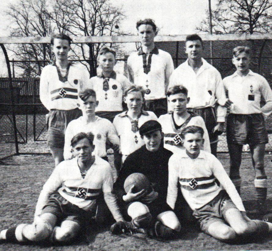 1. Jungmann 1939 bei den Spielen um die Bann- und Gebietsmeisterschaft
