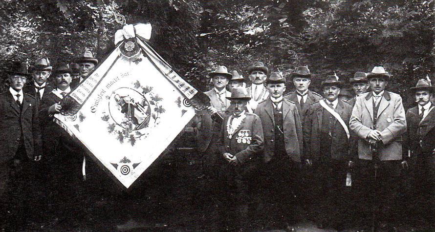 """Schützenverein """"Germania"""" um 1930"""