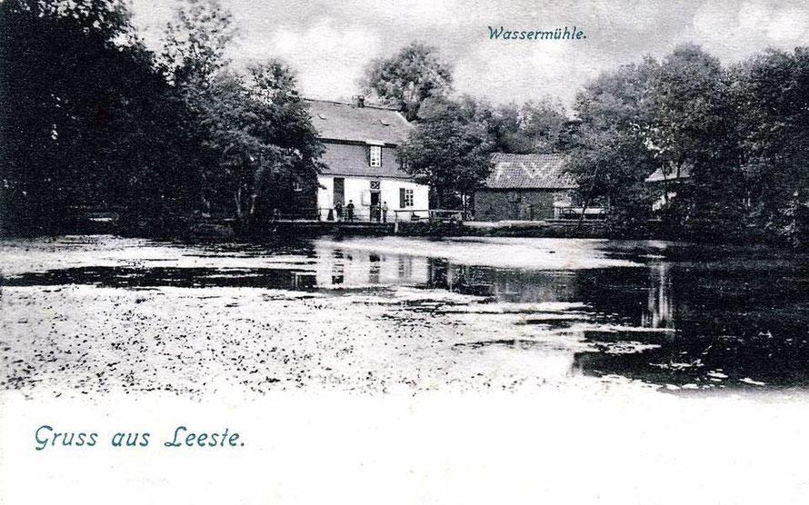 Mühle mit Mühlenteich um 1903.23