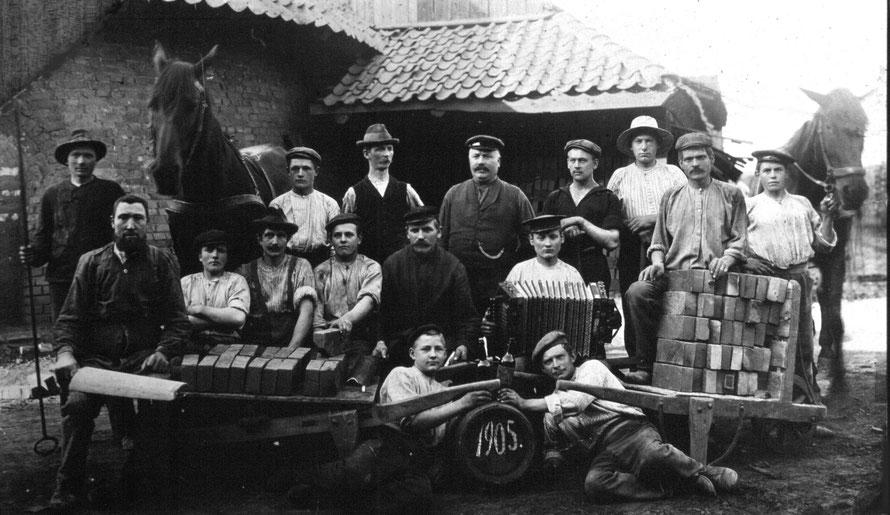 Foto 1905: Archiv Gemeinde Weyhe