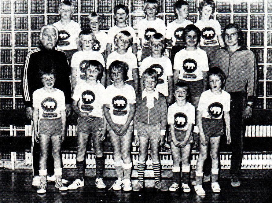 F-Jugend 1978 Fußball-Hallen-Nordkreismeister und Pokalsiegeer