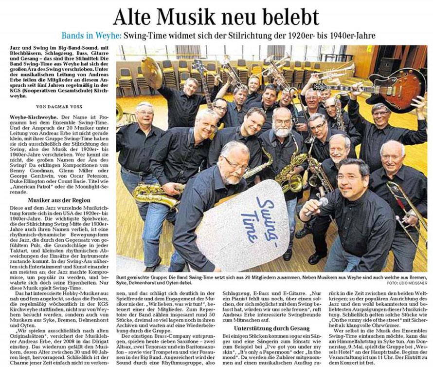 Weser-Kurier vom 30. 04. 2013