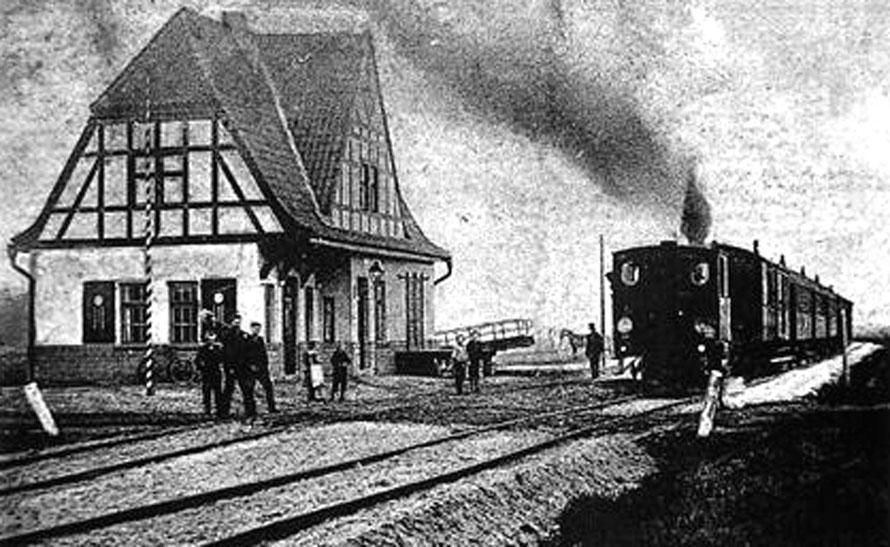 1914 Bahnhof Sudweyhe /Foto/Repro: Wilfried Meyer