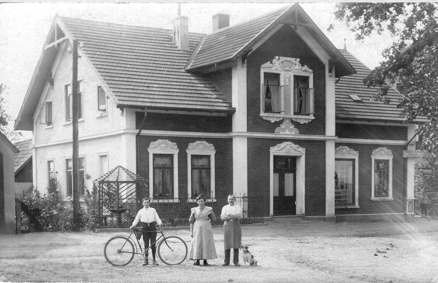 Leeste - Bäcker Speer - 1916