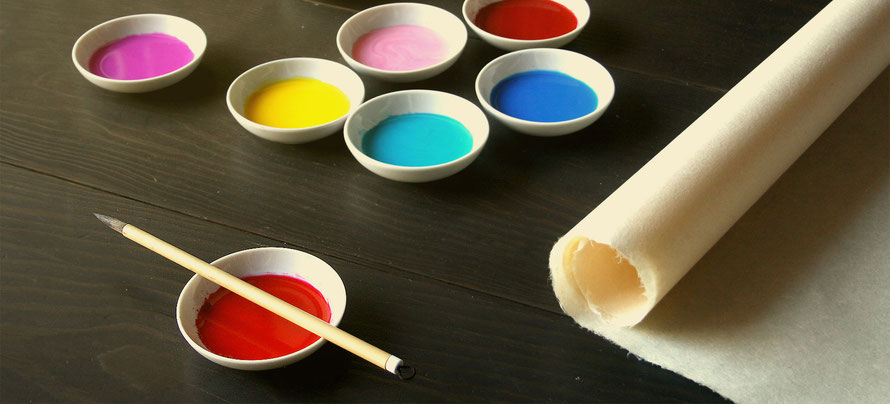 photo of painting materials