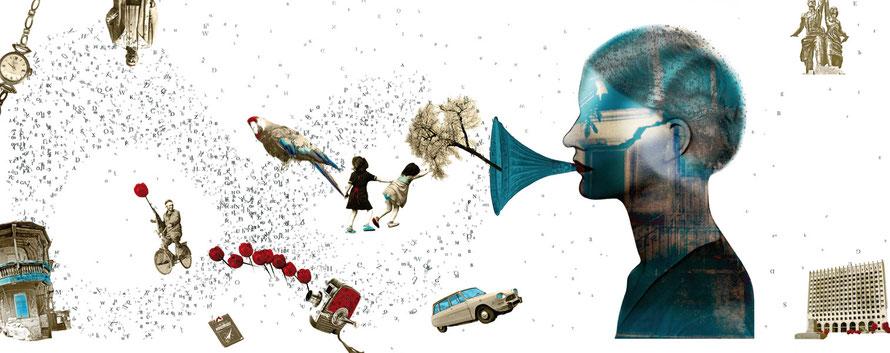 Das Achte Leben. Für Brilka, Coverdesign, ©Julia Bührle-Nowikowa, The Eighth Life. For Brilka, Das achte Leben. Für Brilka, Umschlaggestaltung mit Illustration, Collage von Julia B. Nowikowa