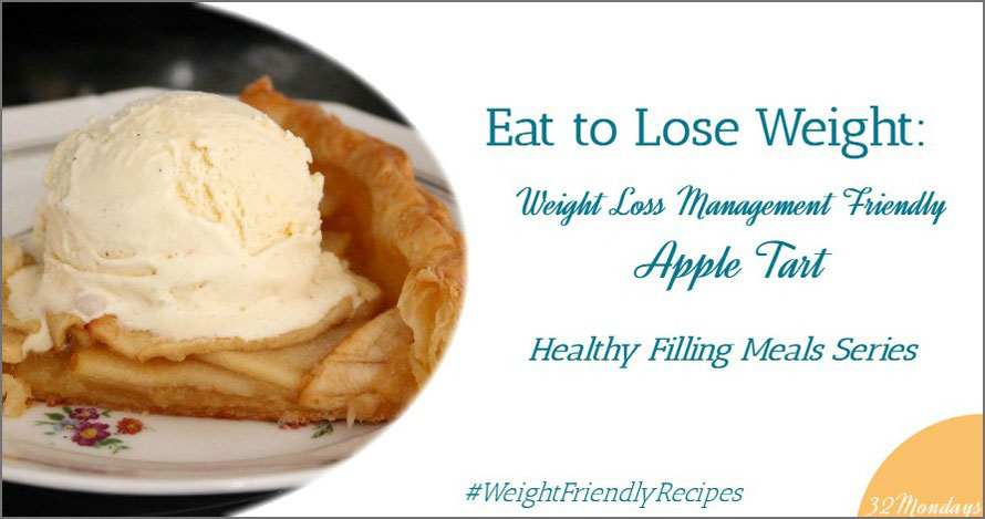 Weight Los Management Friendly Apple Tart