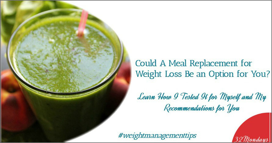 Could a Meal Replacement for Weight Loss Be an Option for You?