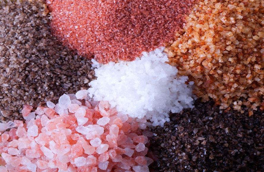 Some nutritional facts about different types of salt